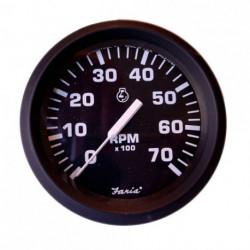 TACOMETRO FARIA NEGRO 70 RPM (32805)