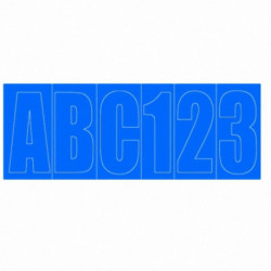 LETRAS ADHESIVAS AZUL (50073842)