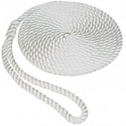 CUERDA AMARRE 5/8 X 30FT WHITE (50013019)