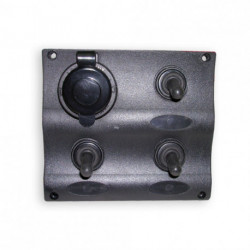 PANEL INTERRUPTOR + BASE TOMA CRTE. (C91339)