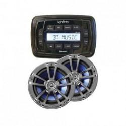 RADIO INFINITY+PARLANTES(INF MPK250)
